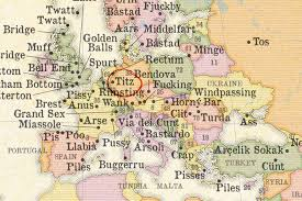 Tos Map Severely Nsfw Part 2 The Most Obscene Names Of Places Europe