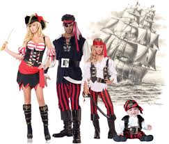 pirate costume ideas for families