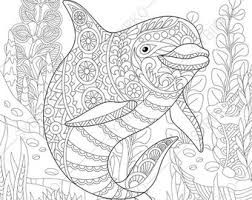 coloring pages shark treasure chest zentangle