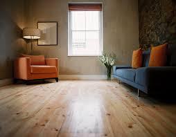 Vinyl Plank Flooring Over Concrete Living Room Interior Light Brown No Gap Floating Vinyl Plank