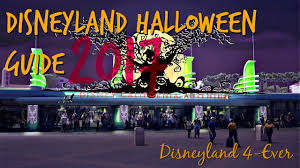 halloween time at disneyland guide 2017 youtube