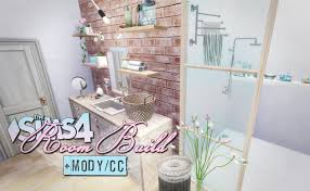 Sims 4 Furniture Sets The Sims 4 Room Build Cc Mody Youtube