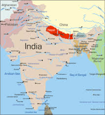 map of nepal and india map of nepal india my