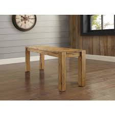 better homes and gardens bryant dining table rustic brown hd