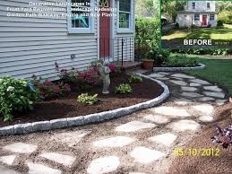 image of cheap front yard landscaping ideas for small backyards