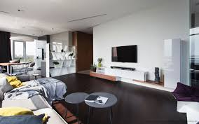 All White Home Interiors Apartment Interior Apartment By Azovskiy Pahomova Architects In