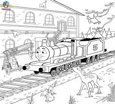 free printable railway pictures thomas scenery drawing for