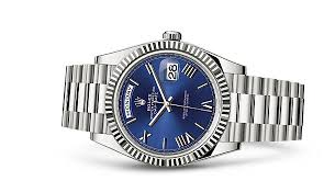 rolex day date 40 18 ct white gold 228239