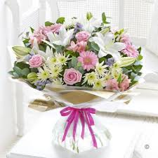 sunday flower delivery happy birthday country garden x large booker flowers