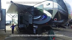 heartland cyclone 5th wheel toy cy 4113 youtube