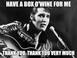 Thank You Very Much Meme - leather elvis imgflip