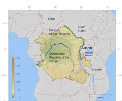 Lake Victoria Africa Map by Congo Nile Divide Wikipedia