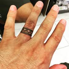 3d finger tattoos tags wedding ring tatoos tattoo ring wedding