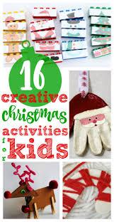 Creative Christmas Craft Ideas 130 Best Christmas Activities With Kids Images On Pinterest