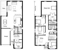 2 story small house plans small 2 storey house plans pinteres