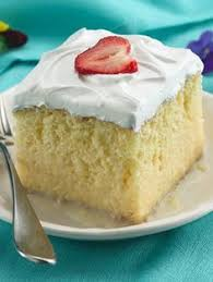tres leches cake with strawberries recipe cake food and