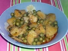 cuisiner les petits pois recette de tajine de pomme de terre aux petits pois