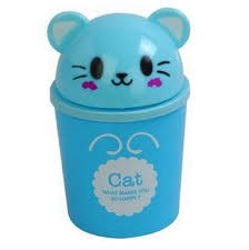 Small Desktop Trash Can Buy Cartoon Panda Desktop Trash Can Family Expenses Creative