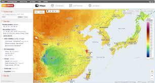 Map Asia by Imaps Interactive Solar Potenial Maps Solargis