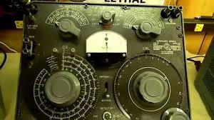 general radio genrad 1650 a impedance bridge mov youtube