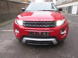 maroon range rover left hand drive lhd land rover range rover evoque 2 2sd4 for
