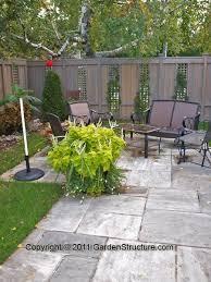 Backyard Privacy Screens Trellis 120 Best Intimité Images On Pinterest Backyard Ideas Backyard
