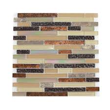 unique copper glass tile backsplash with new glass tile and stone