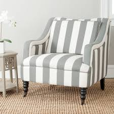 Blue And White Accent Chair Safavieh Homer Arm Chair Grey Blue White Hayneedle