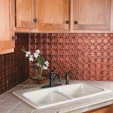 kitchen backsplash panel kitchen dining metal frenzy in kitchen copper backsplash ideas