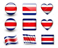 Costarican Flag The Costa Rica Flag U2014 Stock Photo Tpabma2 9016673