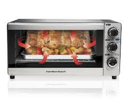 Hamilton Beach Digital 4 Slice Toaster Amazon Com Hamilton Beach 31512 Convection 6 Slice Toaster Oven