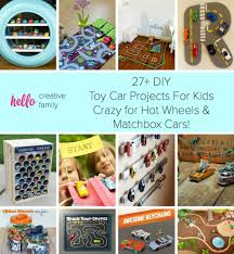matchbox car play table 27 diy toy car projects for kids crazy for wheels and matchbox