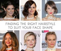 hair cuts based on face shape women beautysouthafrica how to find the right hairstyle for your face