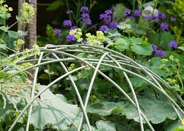 small plant supports buy dome plant support green u0027plant support wire dome small green u0027