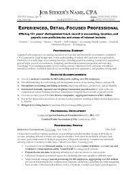 sample resume of an accountant u2013 topshoppingnetwork com