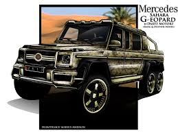 mercedes benz 6x6 dartz dreams up its own mercedes benz g63 amg 6x6