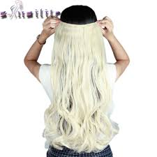 Clip In Blonde Hair Extensions by Popular Blonde Curly Extensions Buy Cheap Blonde Curly Extensions