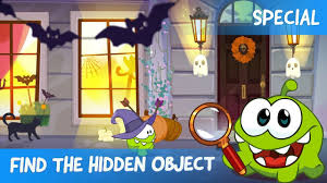 find the hidden object ep 16 om nom stories halloween special