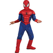 buy ultimate spider man kids muscle chest costume