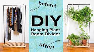 hanging plant room divider youtube