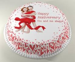 wedding anniversary cake for celebrating occasion images photos