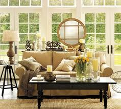 living room pottery barn living room ideas brown polyester blend