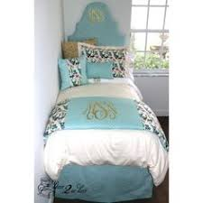 canal blue u0026 white delight designer dorm bedding set dorms