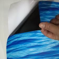 self adhesive wallpaper blue custom floor mural wallpaper blue sea living room bathroom 3d