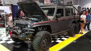 6 wheel drive 750hp jeep wrangler the hellhog by wild boar