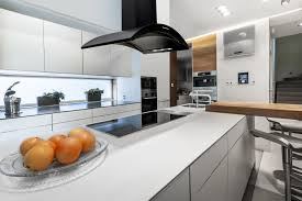 modern island kitchen kitchen large island kitchen hood with white kitchen chairs also