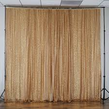 wedding backdrop gold 20ft x 10ft gold sequin backdrop curtain for photo booth party