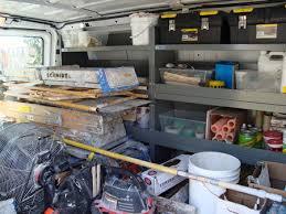 Cargo Van Shelves by Van Shelving Vehicles Contractor Talk