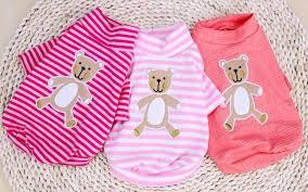 gummy clothes clearance pet clothes dog clothes dogs gummy cotton t shirt pet