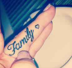 small finger family ink